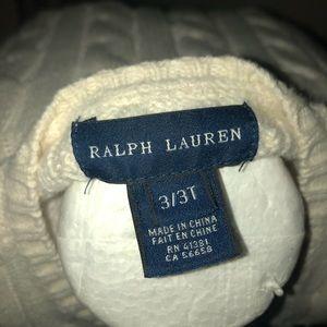 Cute Ralph Lauren buttons sweater